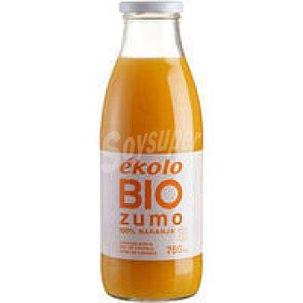 EKOLO Zumo de naranja ecológico Botella 75 cl