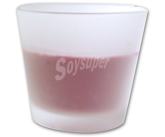 AUCHAN Vela en vaso de 8 centímetros, perfumada y con aromas orientales 1 Unidad
