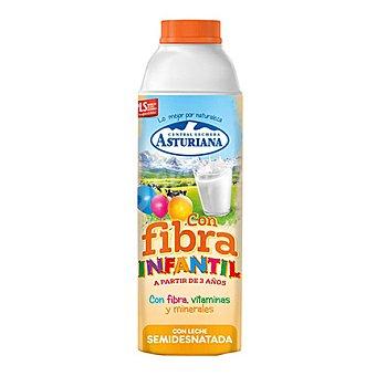 Central Lechera Asturiana Leche infantil con fibras, vitaminas y minerales 1 l