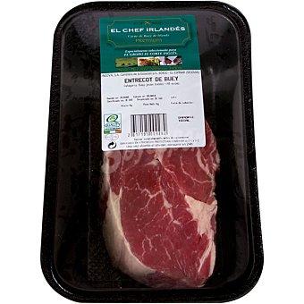 EL CHEF IRLANDÉS EL chef irlandes entrecot de buey de Irlanda bandeja 250 g peso aproximado Bandeja 250 g