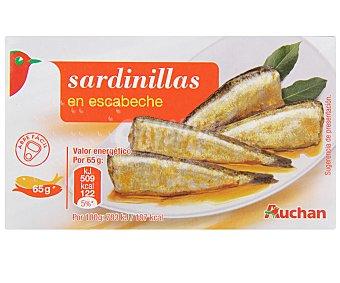 Auchan Sardinillas en Escabeche 65 Gramos