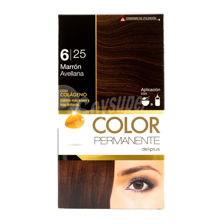 new design multiple colors amazon Deliplus Tinte coloracion permanente Nº 6,25 marron avellana U