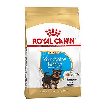 Royal Canin Yorkshire terrier junior pienso para perros cachorros -10 meses de raza Yorkshire Terrier Bolsa 1,5 kg