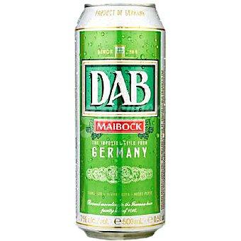 DAB MAIBOCK cerveza rubia alemana  lata 50 cl