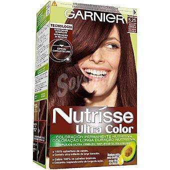 NUTRISSE Ultra Color Tinte castaño caramelo nº 5.25 coloración permanente nutritiva caja 1 unidad especial cabello oscuro Caja 1 unidad