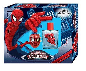 Spiderman Marvel Estuche de colonia infantil para niños Bote de 50 mililitros