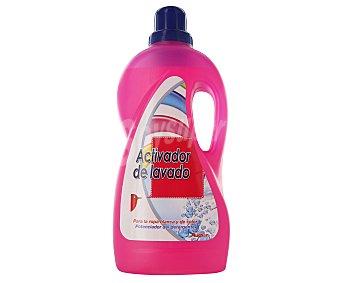 Auchan Activador de lavado para la ropa blanca y de color Lavado 2l