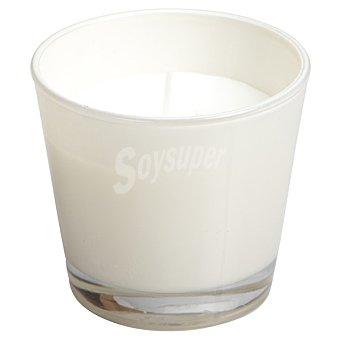 SPAAS Vela Perfumada en vaso cónico en color marfil