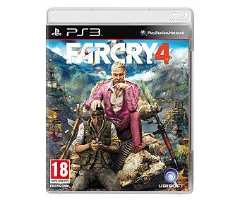 Acción Videojuego Far Cry 4 para PS3. Género: Acción, Shooter. Recomendación por edad pegi: +18 - 1 Unidad 1u