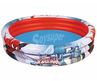 BESTWAY Piscina hinchable infantil con motivos de Spiderman, de 152x30 centímetros, 544.4 litros y recomendada para niños de + 3 años 1 unidad