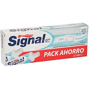 Signal Pasta de dientes Bicarbonato Blanqueador Pack de 2 tubos de 100 ml