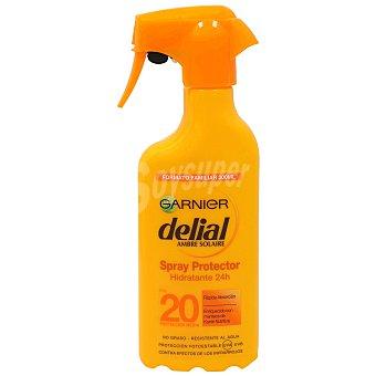 Delial Garnier Delial Crema Protectora Solar F-20 300 ml