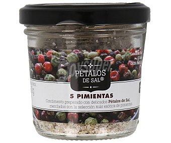 FOSSIL RIVER Pétalos de sal a las 5 pimientas 60 gramos