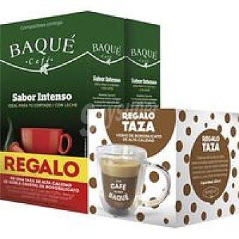 Café Baqué Café intenso caja 20 monodosis