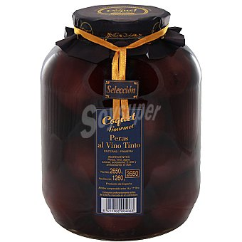 Coquet Pera entera al vino tinto galon 1260 g neto escurrido