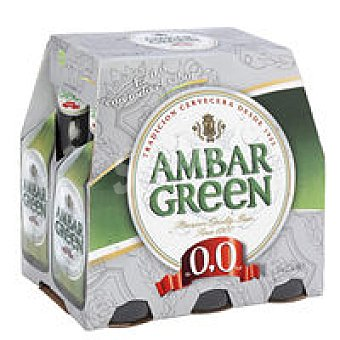 Ambar Green Cerveza sin alcohol Pack 6x25 cl
