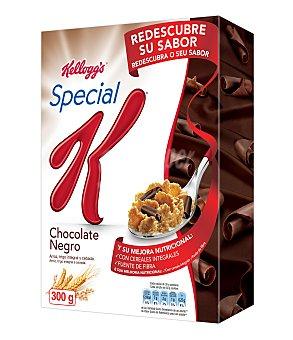 Special K Kellogg's Copos tostados de arroz, trigo y cebada con virutas de chocolate Caja 300 g