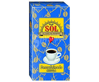 Sol Café molido descafeinado mezcla 250 g