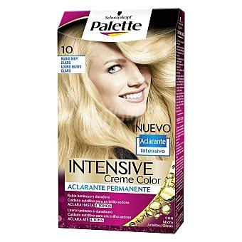 Palette Schwarzkopf Tinte Intense Color Cream 10 Rubio muy Claro 1 ud