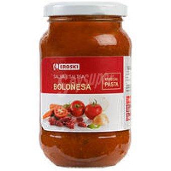 Eroski Salsa boloñesa Tarro 260 g