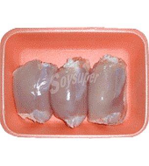 Carrefour Contramuslo de pollo sin piel Bandeja de 650.0 g.