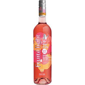 Fruite light Vino rosado de Francia botella 75 cl
