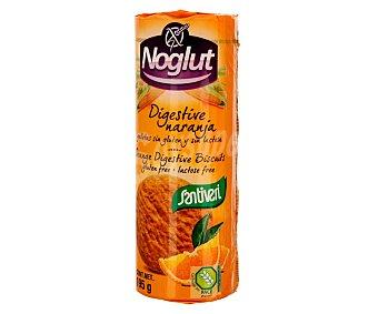 Santiveri Galletas sabor naranja sin gluten y sin lactosa Noglut digestive Paquete de 195 g