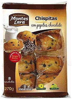 INPANASA Magdalena chispitas Paquete 270 g