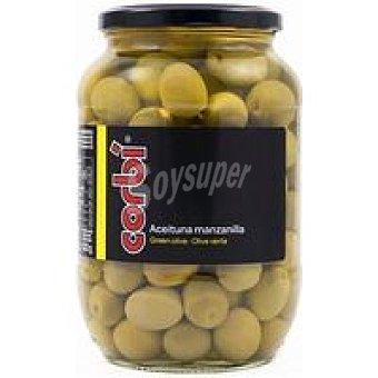 Olives Corbi Aceitunas manzanilla sabor natural Frasco 500 g