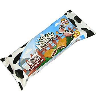 CODAN Milkid Bizcochitos elaborados con leche y rellenos de cacao paquete 150 g 5 unidades