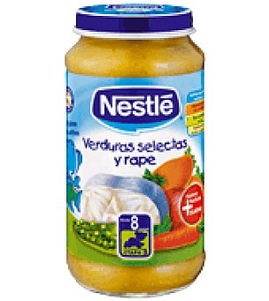 Nestlé Tarrito de verduras selectas y rape 250 g