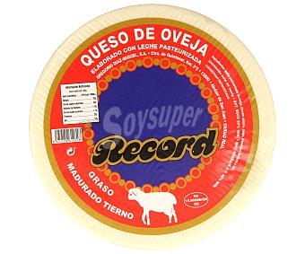 Record Queso de oveja curado 3500 gramos aproximados