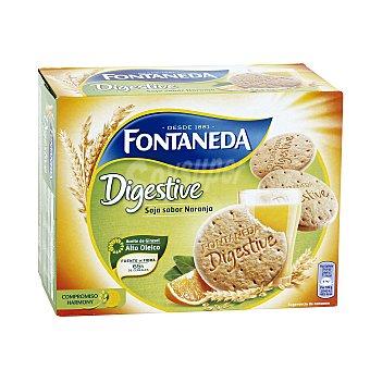 Fontaneda Galletas Digestive Soja y Naranja 600 g