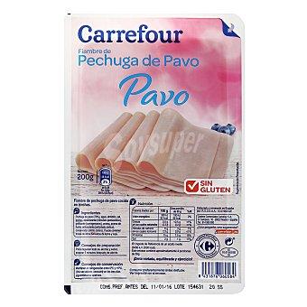 Carrefour Pavo en lonchas 200 g.