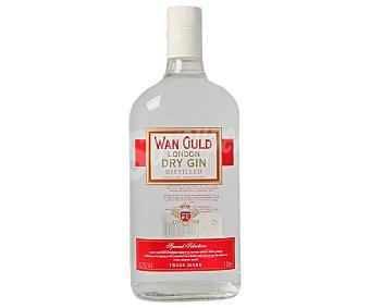 WAN GULD Ginebra española dry Botella de 1 litro