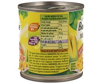 Bonduelle Maíz tierno y dulce 140 gramos