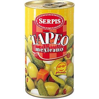 Serpis Tapeo mexicano surtido de encurtidos Lata 150 g neto escurrido