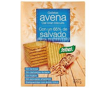 SANTIVERI galletas con 65% de salvado de avena paquete 520 g