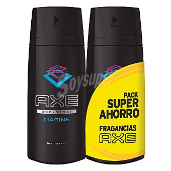 Axe Desodorante Marine spray Pack 2x150 ml