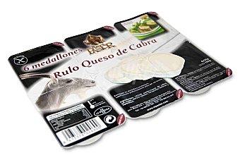 El Pastor de la polvorosa Rulo queso de cabra en porciones 6 unidades de 25 g