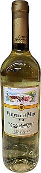 Viña del Mar Vino blanco catalunya semidulce Botella de 750 cc
