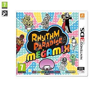 Minijuegos Videojuego Rhythm Pardise Megamix para Nintendo 3Ds. Género: musical, minijuegos. PEGI:+7 3Ds