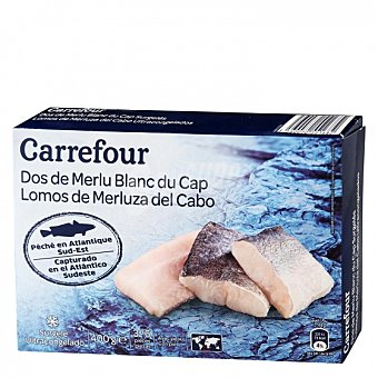 Carrefour Lomos merluza con piel Carrefour 400 g