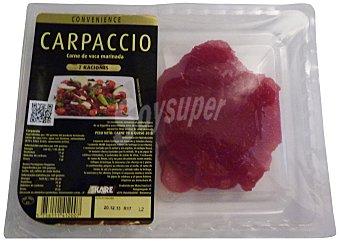 Skare Carpaccio / filetes finos carne de buey marinados aceite oliva y queso fresco Paquete 110 g