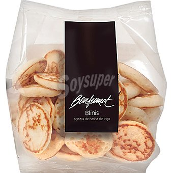 Benfumat Mini blinis tortas de harina de trigo 20 unidades Envase 135 g