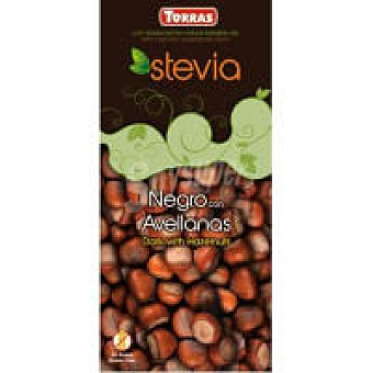 Torras Chocolate negro con avellanas Tableta 200 g