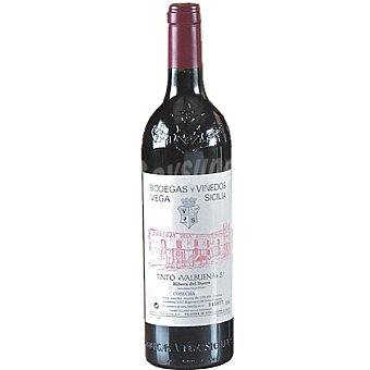 VALBUENA 5 Vino tinto reserva cosecha .O. Ribera del Duero botella 75 cl 2006 D