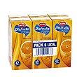 Néctar naranja sin azucares añadidos pack 6 unidades 200 ml Pack 6 unidades 200 ml Juver
