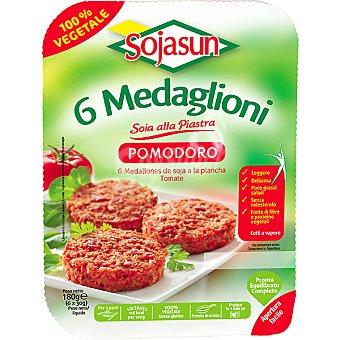 Sojasun Medallones vegetales de albahaca Envase 180 g