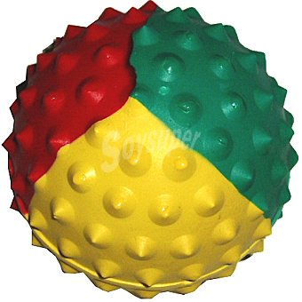 BALL SPORT Pelota para perro modelo erizo colores surtidos diámetro 65 mm 1 unidad 1 unidad